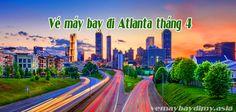 Giá vé máy bay đi Atlanta tháng 4
