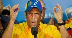 El gobernador del estado Miranda, Henrique Capriles, responsabilizó al presidente Nicolás Maduro de la integridad física de los ciudadanos que resultaron h