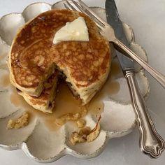 food, pancakes, and breakfast image Think Food, I Love Food, Good Food, Yummy Food, Food Porn, Food Goals, Aesthetic Food, Cute Food, Food Cravings