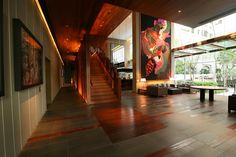 Hansar Luxury Boutique Hotel - Lobby and Reception Area. http://www.boutiquebangkok.com/bangkok/hansar-bangkok-hotel