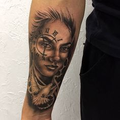Portrait, Tattoos, Tatuajes, Men Portrait, Tattoo, Japanese Tattoos, A Tattoo, Paintings, Portraits