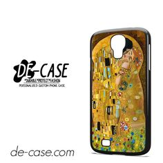 Gustav Klimt The Kiss DEAL-4961 Samsung Phonecase Cover For Samsung Galaxy S4 / S4 Mini