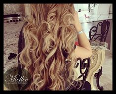22 ASH BEIGE BLONDE Hair Extensions / Russian Human by Miellee