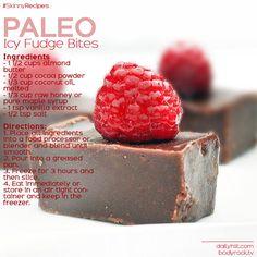 Paleo Icy Fudge Bites