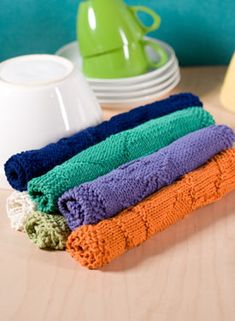 DIY dishcloth pattern for making your own designs