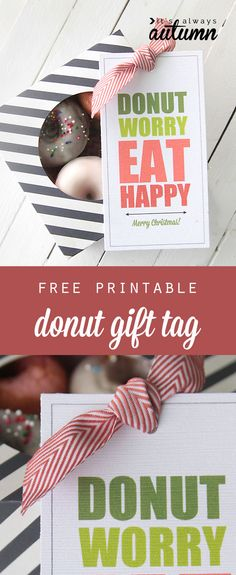 cute+free+printable+gift+tags+for+donuts+-+great+gift+for+birthday,+thanksgiving,+or+christmas! holidays cute+free+printable+gift+tags+for+donuts+-+great+gift+for+birthday,+thanksgiving,+or+christmas! Mini Donuts, Doughnut, Free Printable Gift Tags, Free Printables, Teacher Appreciation Gifts, Teacher Gifts, Customer Appreciation, Baked Cake Mix Donut Recipe, Thanksgiving Gifts