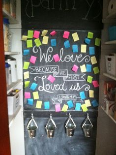 Calculating Blessings: Blessing 181 - Family Love Wall