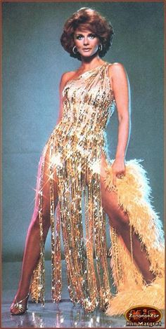 Ann Margret in BOB MACKIE... who design costumes for her Vegas Show in the 1970's