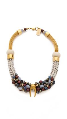 Lizzie Fortunato The Historic Modern Necklace | selected by jamesdrygoods.com for the made in america: contemporary project | #madeinusa |