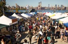Packed with hungry visitors each weekend, Smorgasburg is the crown jewel in the outdoor dining marketplace. Many of the vendors here go on to brick-and-mortar restaurants. Smorgasburg is held Saturday in Williamsburg and Sunday in DUMBO. Many favorite vendors will be back this year, but the new crop looks promising, too.