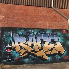 Quick Session last week in #Marienhafe #graffiti #style #felixthecat