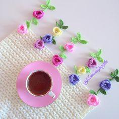 Crochet Doilies, Crochet Flowers, Crochet Borders, Crochet Patterns, Crochet Baby, Knit Crochet, Crafts To Do, Crochet Projects, Free Pattern