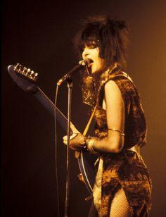 Siouxsie S ❤ Belgium 1982