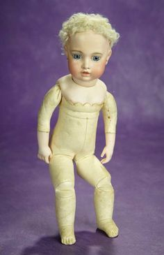 """12"""" French Bisque Bebe by Leon Cas... Auctions Online 