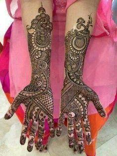 Rajasthani Henna Design