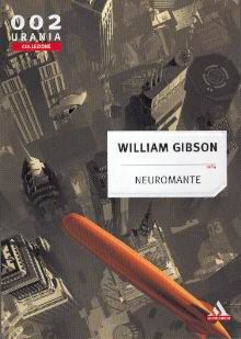 The cover to an Italian edition of Neuromancer.