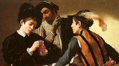 Caravaggio - Partida de naipes