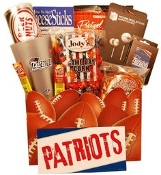 You will enjoy this site! Themed Gift Baskets, Raffle Baskets, New England Football, New England Patriots, Party Gifts, Diy Gifts, Christmas Stockings, Christmas Gifts, Christmas Ideas