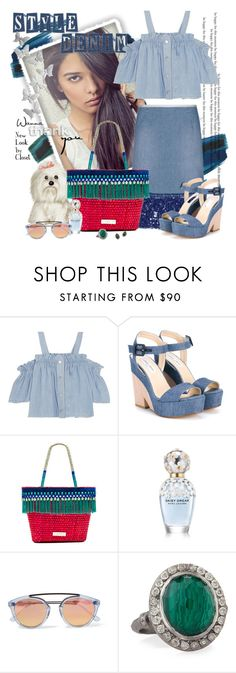 """""""New Look by Closet - Style"""" by claudia-nunes04 ❤ liked on Polyvore featuring Steve J & Yoni P, Jimmy Choo, Caffé, Westward Leaning and Armenta"""