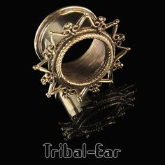Femmes Lady Quartz Rose Pierre Oreille Jauge Chair Tunnels Plugs Piercing body Jewelry
