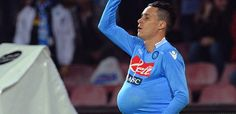 Jose Maia Callejon scored Napoli's opening goal against Catania.