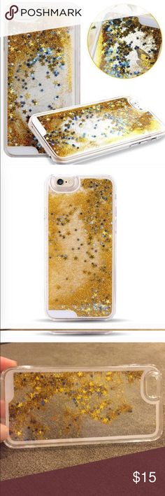 iPhone 7 phone case Glitter liquid sand iPhone 7 case new with tags Accessories Phone Cases