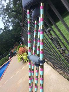 crafted crutches, cute crutches, decorated crutches