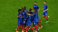 Should France stick with the attack-minded 4-2-3-1 formation that's worked so well or bunker down with a 4-3-3 versus Germany? James Eastham weighs in