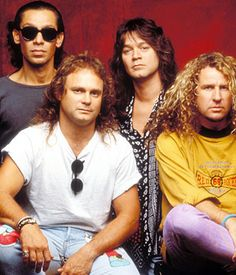 Van Halen - Alex Van Halen, Michael Anthony, Eddie Van Halen and Sammy Hagar in Los AngelesPhoto by: Marty Temme/WireImage.com