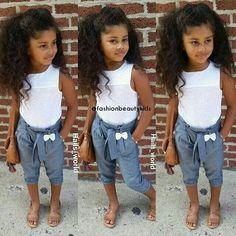Aahwstyle girls fashion kids, kids outfits girls, little girl outfits, cute l Little Girl Outfits, Cute Outfits For Kids, Little Girl Fashion, Cute Little Girls, My Little Girl, Toddler Fashion, Cute Kids, Cute Babies, Kids Fashion