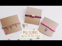 DIY: TEJE TUS PULSERAS, ÚNICAMENTE CON TUS DEDOS!! NUEVA TÉCNICA - YouTube