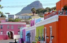 South Africa - The Bo-Kaap is an area of Cape Town, formerly known as the Malay Quarter. It is a former township, situated on the slopes of Signal Hill above the city centre.