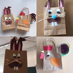 Heute haben wir unsere Ostertüten gebastelt! Hier ein paar der gelungenen Exemplare! Ich freu mich schon, die Tüten befüllen zu können! #Osterdeko #ostertüte #hahn #osterhase #grundschulideen #grundschullehrerin #grundschule #froileinskunterbunt