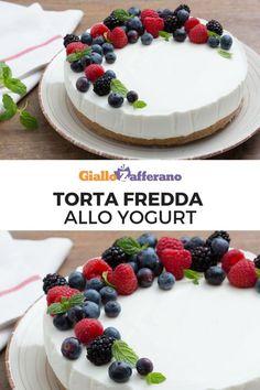 Torta fredda veloce allo yogurt: senza forno e pronta in poco tempo! Il dolce estivo per eccellenza da preparare con lo yogurt che più ti piace. #giallozafferano #video #videricetta #cake #senzacottura #senzaforno #light #summerrecipes #yogurt [easy no bake yogurt cake]