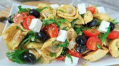 Tortellini Salat Tomaten und Feta
