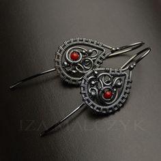 Red Dot - Earrings Jewelry Earrings Iza Malczyk