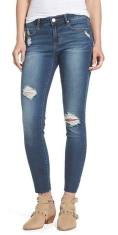 ca223a75d69b Articles of Society Sarah Skinny Jeans  distressedjeans  jeans  fallfashion   affiliate Work Fashion