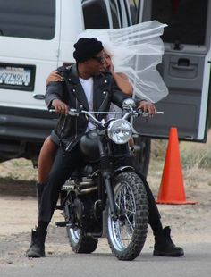 """Jay Z wears BLK DNM Leather Motorcycle Jacket During """"On The Run"""" Video Shoot   UpscaleHype"""