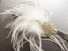 Great Gatsby Headpiece  Silver Flapper by CuteAsaButtonbyAmy