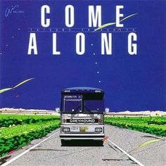 Tatsuro Yamashita - Come Along (Vinyl, LP) at Discogs Music Covers, Cd Cover, Album Covers, Landscape Illustration, Illustration Art, Japanese Graphic Design, Glass Animals, Retro Art, Illustrations And Posters