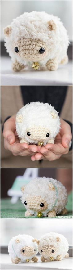 FREE amigurumi crochet pattern: Fluufie the Sheep