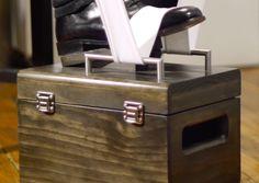 shoe shine box - Google Search