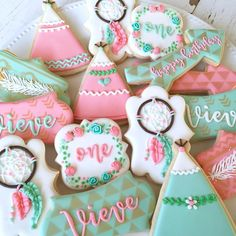 The full set #mrsbeardsbakeshop #sugarcookies... - Mrs. Beard's Bake Shop