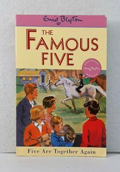 Like New Five Are Together Again Famous by Enid Blyton illustrated paperback The Famous Five, Christmas Tale, Enid Blyton, Together Again, Writing Numbers, Audiobooks, Nostalgia, Ebooks, This Book
