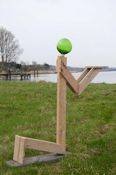 Treibholz-Outdoor-Skulptur KARA TE ~ driftwood sculpture