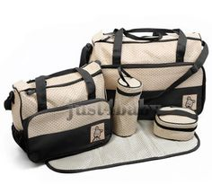 5pcs Baby Nappy BLACK Changing Bags Set just4baby http://www.amazon.co.uk/dp/B00CA2FIXK/ref=cm_sw_r_pi_dp_ozggvb1QB7NXY