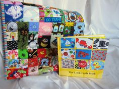 New Childs Large Look Quilt I spy with Hardcover by StitchNWine