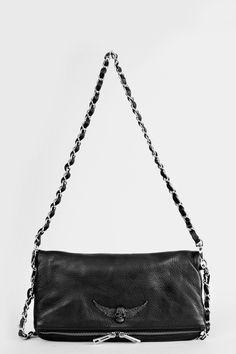clutch for woman rock black Zadig&Voltaire