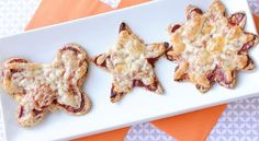 These tasty little crackers taste like pizza, and can be made into all kinds of fun shapes. Kids will love helping to make these.