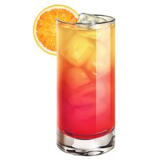 Tequila Sunrise Cocktail  The Tequila Sunrise is a cocktail made of tequila, orange juice, and grenadine syrup and served unmixed in a tall glass .   Main alcohol: Tequila Ingredients: 3 oz (6 parts) Orange juice, 1 1/2 oz (3 parts) Tequila, 1/2 oz (1 part) Grenadine syrup Preparation: Pour the tequila and orange juice into glass over ice. Add the grenadine, which will sink to the bottom. Do not stir. Garnish and serve. Served: On the rocks; poured over ice Standard garnish: Orange slice…